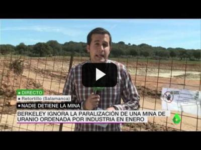 Embedded thumbnail for Video: El Gobierno confirma que el permiso para la mina de uranio está suspendido