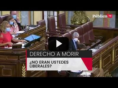 "Embedded thumbnail for Video: Errejón, al PP y VOX: ""¿No eran ustedes liberales?"""