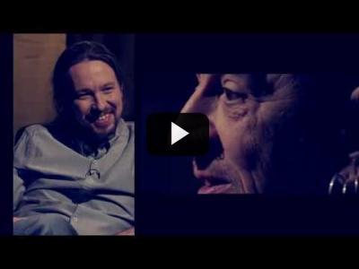 Embedded thumbnail for Video: Otra Vuelta de Tuerka - Pablo Iglesias con Evaristo Páramos