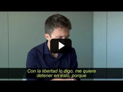 Embedded thumbnail for Video: Íñgo Errejón y el derecho a la libertad