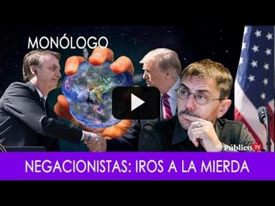 Embedded thumbnail for Video: #EnLaFrontera298 - Monólogo - Negacionistas: Iros a la mierda