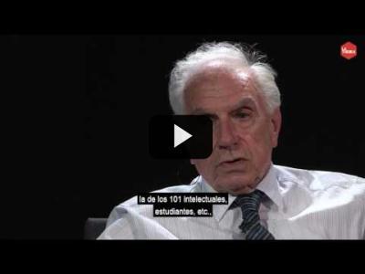 Embedded thumbnail for Video: Otra Vuelta de Tuerka - Mario Tronti - El bautismo político del 56