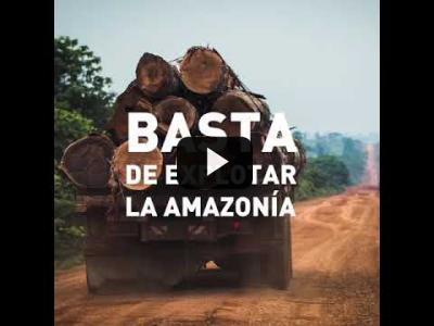 Embedded thumbnail for Video: ¡Salvemos la selva del Amazonas!