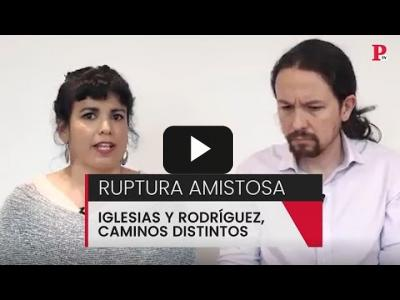 Embedded thumbnail for Video: Ruptura amistosa: Iglesias y Rodríguez, caminos distintos