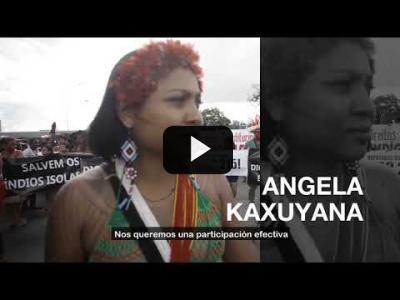 Embedded thumbnail for Video: Los pueblos indígenas en Europa para proteger la Amazonia