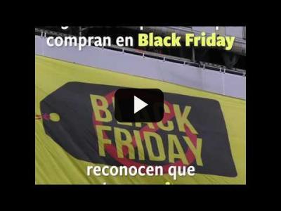 Embedded thumbnail for Video: Black Friday: Desplegamos una pancarta en la Gran Vía de Madrid