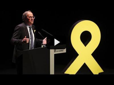 Embedded thumbnail for Video: Madrid pide a Torra dialogar por todos los catalanes