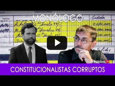 Embedded thumbnail for Video: #EnLaFrontera282 - Monólogo - Constitucionalistas Corruptos