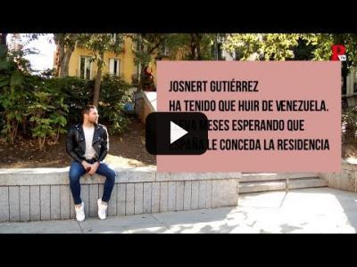 Embedded thumbnail for Video: ¿Cómo vive una persona a la espera de asilo? Esta es la historia de Josnert Gutiérrez