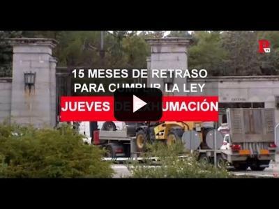 Embedded thumbnail for Video: 24 de octubre de 2019: el día de la exhumación ha llegado
