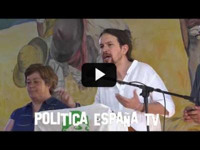 "Embedded thumbnail for Video: Pablo Iglesias ""LADRON, LADRÓN, LADRONES!!!"" (4 junio 2017)"