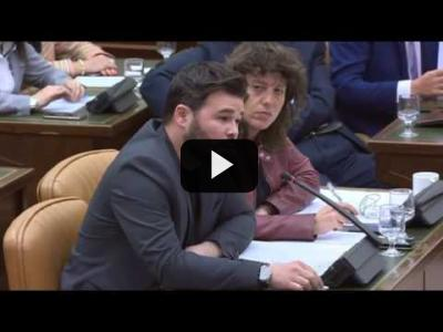 Embedded thumbnail for Video: GABRIEL RUFIÁN (ERC) - BRONCA BRUTAL con DE ALONSO en el Congreso (05/04/2017)