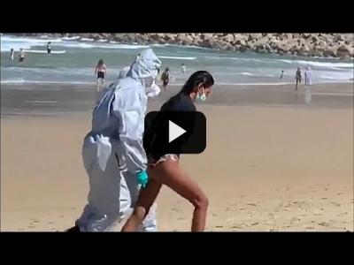 Embedded thumbnail for Video: COVID-19 | Violar la cuarentena en la cresta de la ola