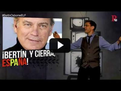 Embedded thumbnail for Video: #EnLaFrontera219 - Bertín Osborne, un facha de pelo en pecho