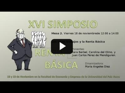 Embedded thumbnail for Video: XVI Simposio de Red Renta Básica - Mesa 2