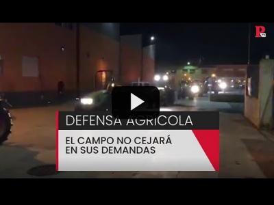 Embedded thumbnail for Video: El campo no cejará en sus demandas