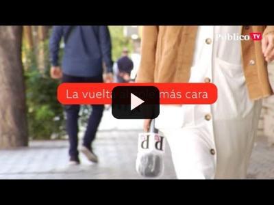 Embedded thumbnail for Video: La vuelta al cole más cara: las familias gastarán 324 euros más al año en mascarillas