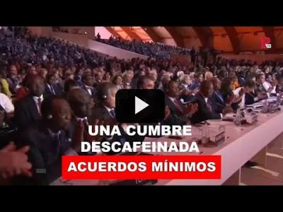 Embedded thumbnail for Video: COP25: una cumbre descafeinada