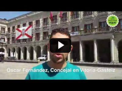 Embedded thumbnail for Video: Óscar Fernández, concejal en Vitoria-Gasteiz