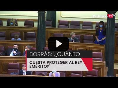 Embedded thumbnail for Video: Marlaska resta importancia al gasto de dinero público en la seguridad del emérito y evita dar cifras