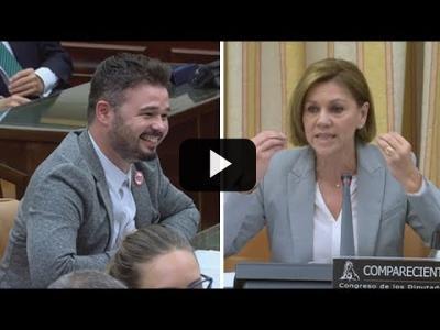 Embedded thumbnail for Video: GABRIEL RUFIAN (ERC) saca de quicio a COSPEDAL (PP) en el Congreso (28/05/2018)