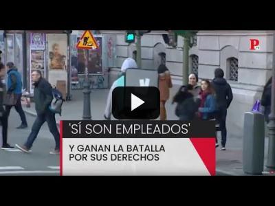 Embedded thumbnail for Video: Justicia, Deliveroo y los 'riders': 'sí son falsos autónomos'