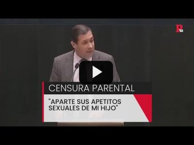 "Embedded thumbnail for Video: Vox y la censura parental: ""Aparte sus apetitos sexuales de mi hijo"""