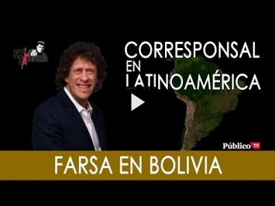 Embedded thumbnail for Video: #EnLaFrontera291 - Pedro Brieger: Farsa en Bolivia - 02 de Diciembre de 2019
