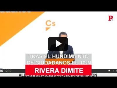 Embedded thumbnail for Video: Albert Rivera dimite como presidente de Ciudadanos