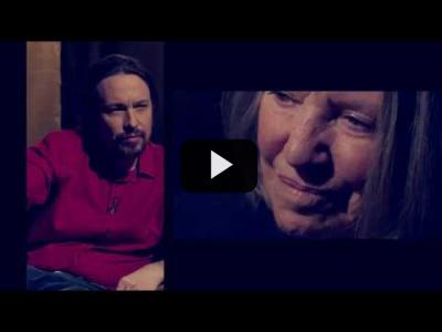 Embedded thumbnail for Video: Otra Vuelta de Tuerka - Pablo Iglesias con Nancy Fraser