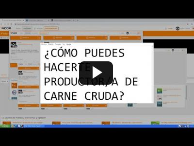 Embedded thumbnail for Video: Cómo puedes hacerte productor/a de Carne Cruda
