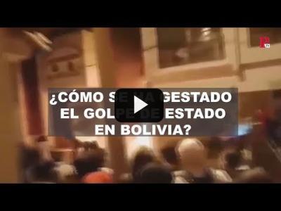 Embedded thumbnail for Video: #EnLaFrontera280 - El golpe de Estado en Bolivia en 4 minutos