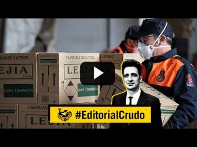 "Embedded thumbnail for Video: ""Beber lejía"" #EditorialCrudo 704"