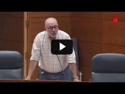 Embedded thumbnail for Video: Alejandro Sánchez critica la reforma encubierta de Ayuso de la ley del suelo