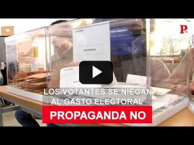 Embedded thumbnail for Video: No a la propaganda: los votantes se niegan al gasto electoral
