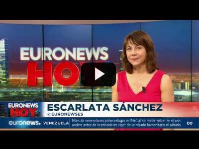 Embedded thumbnail for Video: Euronews Hoy | Las noticias del lunes 17 de junio de 2019