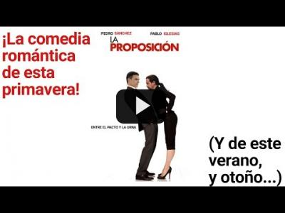 """Embedded thumbnail for Video: """"Cuando Pablo olvidó a Pedro"""": ¡ya está aquí la comedia romántica del año!"""