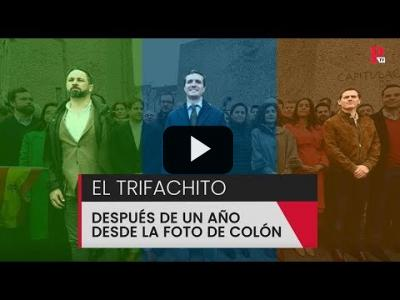 Embedded thumbnail for Video: El 'trifachito' después de un año desde la foto de Colón