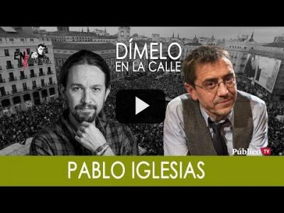 Embedded thumbnail for Video: #EnLaFrontera276 - ¡Dímelo en la calle! Juan Carlos Monedero con Pablo Iglesias