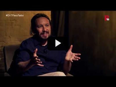Embedded thumbnail for Video: Otra Vuelta de Tuerka - Pablo Iglesias con Paco Taibo