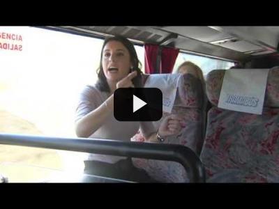 Embedded thumbnail for Video: IRENE MONTERO (Podemos) en la 'Ruta del TRAMABÚS' (27/04/2017)