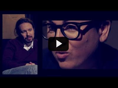 Embedded thumbnail for Video: Otra Vuelta de Tuerka - Pablo Iglesias con Sonia Vivas
