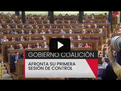 Embedded thumbnail for Video: El Gobierno de coalición afronta su primera sesión de control - PTV