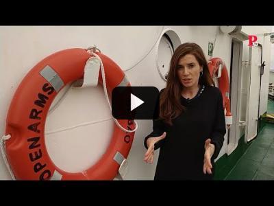 Embedded thumbnail for Video: Open Arms, misión de rescate: día 1