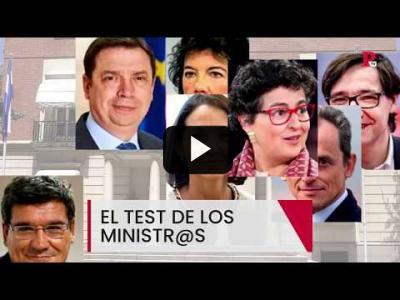 Embedded thumbnail for Video: El test de l@s ministr@s