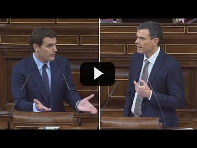 Embedded thumbnail for Video: ALBERT RIVERA (C's)  - Moción de Censura de PEDRO SÁNCHEZ a RAJOY (31/05/2018)