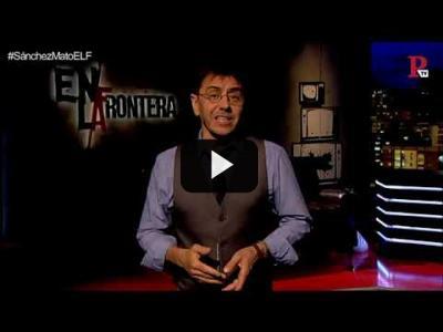 Embedded thumbnail for Video: #EnLaFrontera220 - Monólogo - San Isidro, un currante, habría estado en el 15-M
