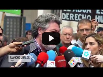 Embedded thumbnail for Video: Presentación de la querella contra el PP por el saqueo del Canal de Isabel II