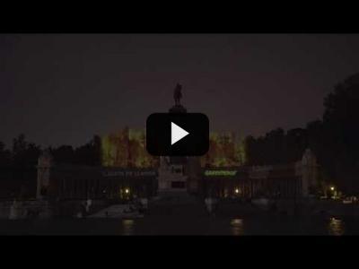 """Embedded thumbnail for Video: ¡¡ACCIÓN!! """"Incendiamos"""" el Retiro para denunciar la destrucción de los bosques"""