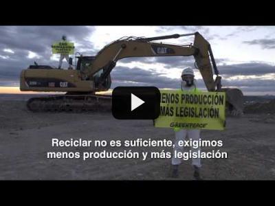Embedded thumbnail for Video: ¡ACCIÓN! Denunciamos el #MalditoPlástico en Valdemingómez